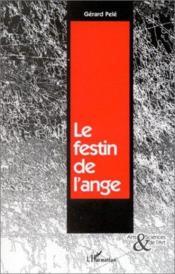 Le festin de l'ange - Couverture - Format classique