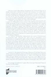 Fabrication Du Papier En France Au 18e Siecle. Patrons Et Ouvriers Dans La Manuf - 4ème de couverture - Format classique