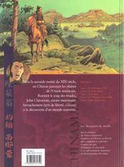 Chinaman t.4 ; mangeurs de rouille - 4ème de couverture - Format classique