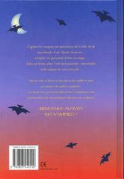 Aventures Cocasses Au Pays Des Vampires - 4ème de couverture - Format classique