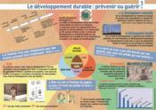 Le développement durable : prévenir ou guérir ? - Couverture - Format classique