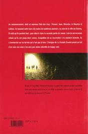 La Grande Erosion Black Sotie - 4ème de couverture - Format classique