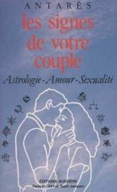 Les signes de votre couple - Couverture - Format classique
