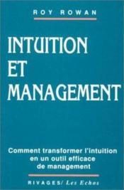 Intuition et management - Couverture - Format classique