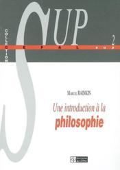 Une Introduction A La Philosophie - Couverture - Format classique