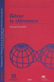 Gerer La Clemence - Couverture - Format classique
