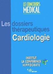 Cardio.Dossier Therapeutique - Couverture - Format classique