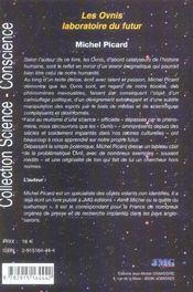 Ovnis Laboratoire Du Futur (Les) - 4ème de couverture - Format classique