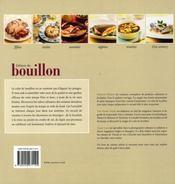 Délices de bouillon - 4ème de couverture - Format classique