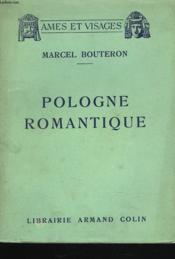 Pologne Romantique - Couverture - Format classique