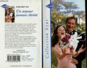 Un amour jamais éteint - Couverture - Format classique