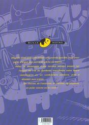 Zambada t.3 ; menace sur zambada - 4ème de couverture - Format classique
