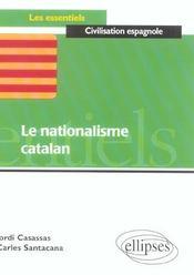 Le Nationalisme Catalan - Intérieur - Format classique