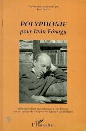 Polyphonie pour Ivan Fonagy - Couverture - Format classique