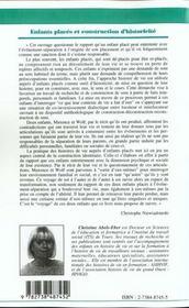 L'Inscription Sociale De L'Intellectuel - 4ème de couverture - Format classique