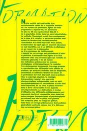Troubles Dep & Pers Agees - 4ème de couverture - Format classique