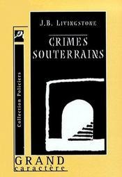 Crimes Souterrains - Intérieur - Format classique