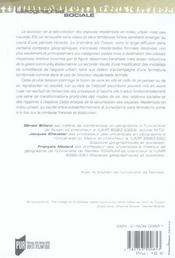 Ville Fermee Ville Surveillee Securisation Des Espaces Residentiels En France Et - 4ème de couverture - Format classique