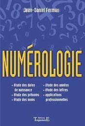 Numerologie - Couverture - Format classique