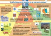Le développement durable : ça ne me concerne pas ! - Couverture - Format classique