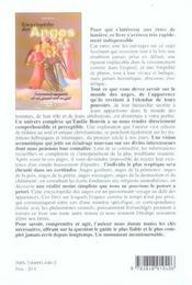 Encyclopedie Des Anges - 4ème de couverture - Format classique