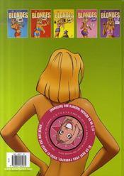 Les Blondes T.6 ; Mises A Nu - 4ème de couverture - Format classique