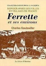Ferrette Et Ses Environs - Couverture - Format classique