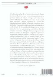 La peinture réaliste au XXème siècle - 4ème de couverture - Format classique