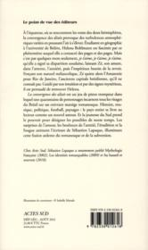 La convergence des alizés - 4ème de couverture - Format classique