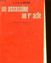 On Assassine Au Premier Acte - Who Killed Dick Whittington - Couverture - Format classique