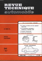 Revue Technique Automobile - N°264 - Couverture - Format classique