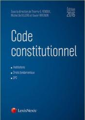Vente  Code constitutionnel ( édition 2016)  - Collectif