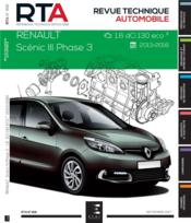 Vente  REVUE TECHNIQUE AUTOMOBILE N.818 ; Renault Scénic III phase 3 ; 1.6 dci 130 eco2 ; 2013-2016  - Etai - Collectif