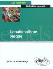 Le Nationalisme Basque - Intérieur - Format classique