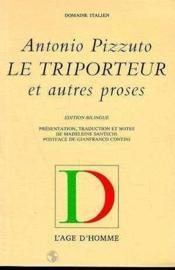 Le Triporteur - Couverture - Format classique