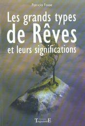 Grands Types De Reves Et Leurs Significations - Intérieur - Format classique