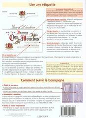 Petit Guide T.89 ; Les Vins De Bourgogne - 4ème de couverture - Format classique