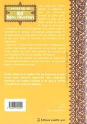 Les bons couscous - 4ème de couverture - Format classique
