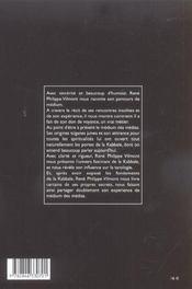 Rene Philippe Vilmont Et La Kabbale - 4ème de couverture - Format classique