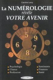 Numerologie Revelent Votre Avenir (La) - Intérieur - Format classique