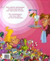 Les petites filles sont des princesses - 4ème de couverture - Format classique