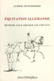 Équitation allemande - Couverture - Format classique