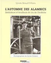 L'Automne Des Alambics - Intérieur - Format classique