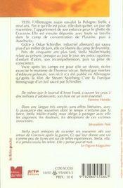 Le Livre De Stella - 4ème de couverture - Format classique