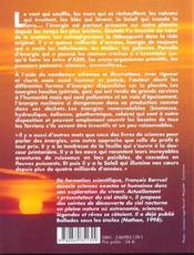 Les energies de la planete - 4ème de couverture - Format classique