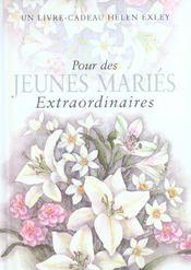 Pour Des Jeunes Maries Extraordinaires Nlle Edition - Intérieur - Format classique