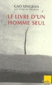 Le Livre D'Un Homme Seul - Couverture - Format classique