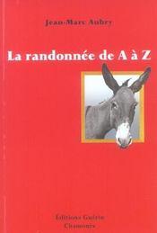 La randonnée de A à Z - Intérieur - Format classique