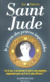 Saint jude, le patron des prières impossibles - Couverture - Format classique
