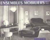 Ensembles Mobiliers, 1937 - Intérieur - Format classique